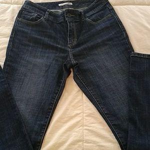 Chico Platinum sz 0 30x31 high rise blue jeans